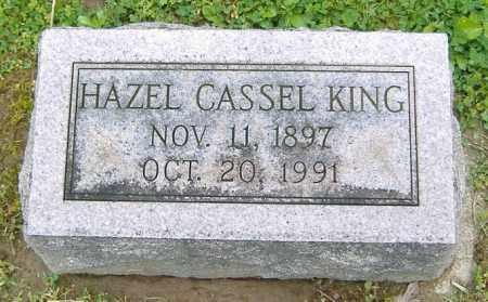 CASSEL KING, HAZEL - Richland County, Ohio | HAZEL CASSEL KING - Ohio Gravestone Photos