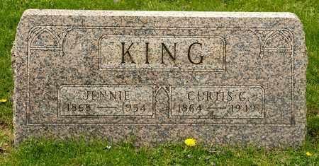 KING, JENNIE - Richland County, Ohio | JENNIE KING - Ohio Gravestone Photos