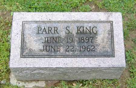 KING, PARR SIMPSON - Richland County, Ohio | PARR SIMPSON KING - Ohio Gravestone Photos