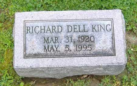 KING, RICHARD DELL - Richland County, Ohio   RICHARD DELL KING - Ohio Gravestone Photos