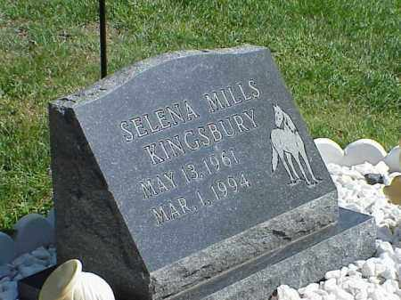 KINGSBURY, SELENA MILLS - Richland County, Ohio | SELENA MILLS KINGSBURY - Ohio Gravestone Photos