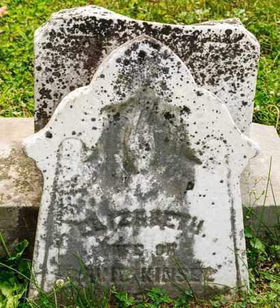 KINSEL, ELIZABETH - Richland County, Ohio | ELIZABETH KINSEL - Ohio Gravestone Photos