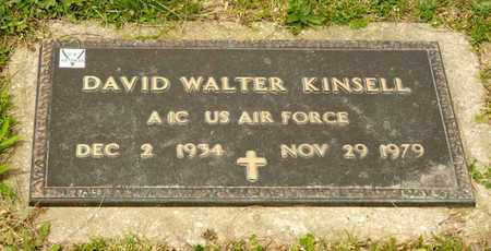 KINSELL, DAVID WALTER - Richland County, Ohio   DAVID WALTER KINSELL - Ohio Gravestone Photos