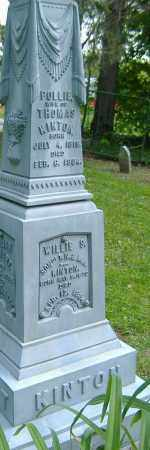 KINTON, POLLIE - Richland County, Ohio   POLLIE KINTON - Ohio Gravestone Photos