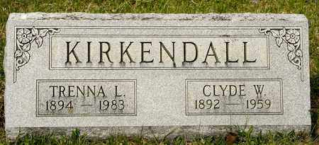 KIRKENDALL, CLYDE W - Richland County, Ohio | CLYDE W KIRKENDALL - Ohio Gravestone Photos