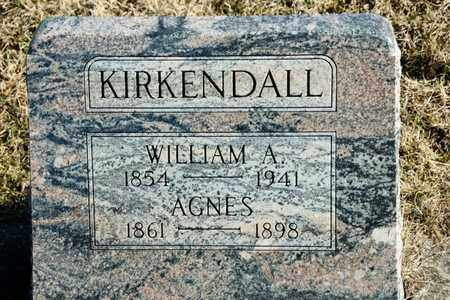 KIRKENDALL, WILLIAM A - Richland County, Ohio | WILLIAM A KIRKENDALL - Ohio Gravestone Photos