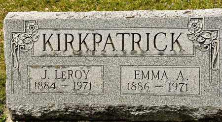 KIRKPATRICK, EMMA A - Richland County, Ohio   EMMA A KIRKPATRICK - Ohio Gravestone Photos