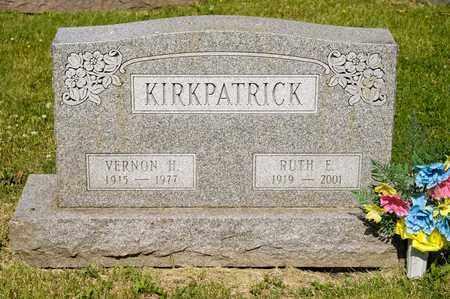 KIRKPATRICK, RUTH E - Richland County, Ohio | RUTH E KIRKPATRICK - Ohio Gravestone Photos