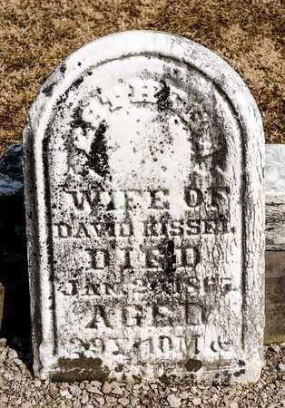 KISSEL, ESTHEL A - Richland County, Ohio | ESTHEL A KISSEL - Ohio Gravestone Photos