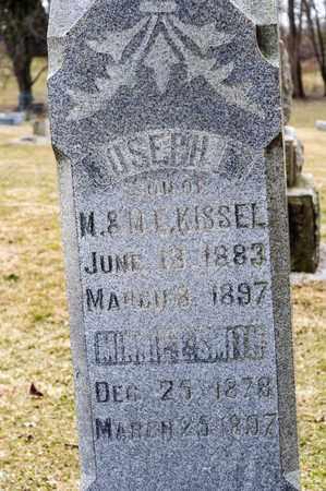 KISSEL, JOSEPH E - Richland County, Ohio | JOSEPH E KISSEL - Ohio Gravestone Photos