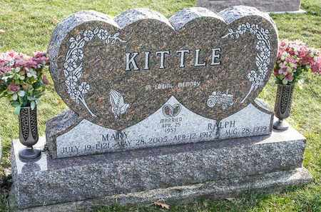KITTLE, RALPH - Richland County, Ohio | RALPH KITTLE - Ohio Gravestone Photos