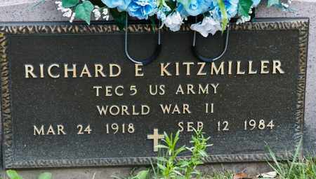 KITZMILLER, RICHARD E - Richland County, Ohio | RICHARD E KITZMILLER - Ohio Gravestone Photos
