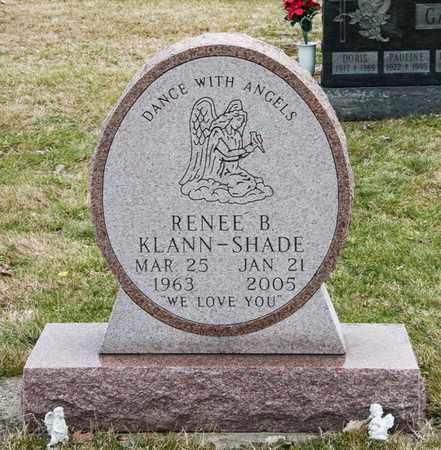 KLANN-SHADE, RENEE B - Richland County, Ohio | RENEE B KLANN-SHADE - Ohio Gravestone Photos