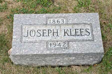 KLEES, JOSEPH - Richland County, Ohio   JOSEPH KLEES - Ohio Gravestone Photos