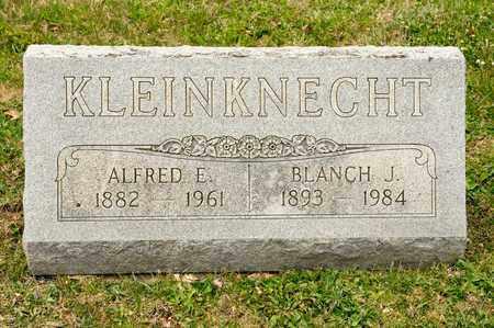 KLEINKNECHT, BLANCH J - Richland County, Ohio   BLANCH J KLEINKNECHT - Ohio Gravestone Photos