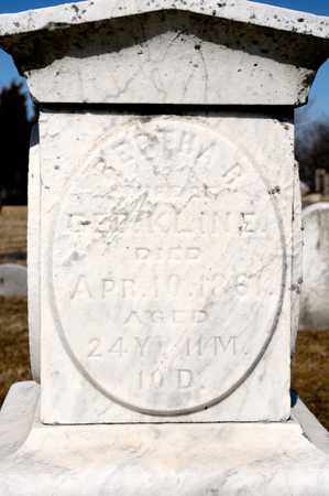 KLINE, BERTHA R - Richland County, Ohio   BERTHA R KLINE - Ohio Gravestone Photos