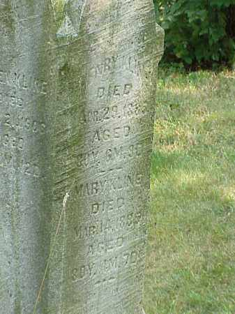 KLINE, MARY - Richland County, Ohio | MARY KLINE - Ohio Gravestone Photos