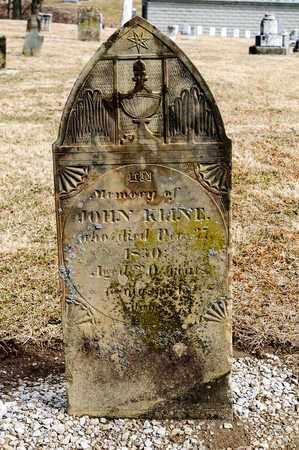 KLINE, JOHN - Richland County, Ohio | JOHN KLINE - Ohio Gravestone Photos