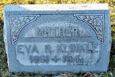 KLINKLE, EVA R - Richland County, Ohio   EVA R KLINKLE - Ohio Gravestone Photos