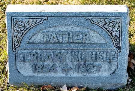 KLINKLE, GERHART - Richland County, Ohio | GERHART KLINKLE - Ohio Gravestone Photos