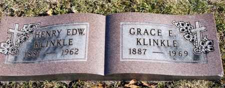 KLINKLE, GRACE E. - Richland County, Ohio | GRACE E. KLINKLE - Ohio Gravestone Photos