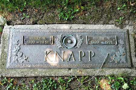 KNAPP, HARRY H - Richland County, Ohio | HARRY H KNAPP - Ohio Gravestone Photos