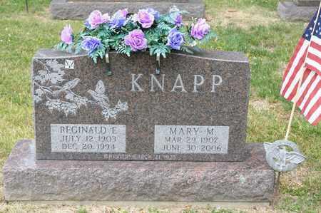 KNAPP, MARY M - Richland County, Ohio | MARY M KNAPP - Ohio Gravestone Photos