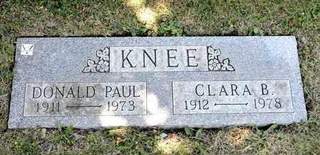 KNEE, CLARA B - Richland County, Ohio   CLARA B KNEE - Ohio Gravestone Photos