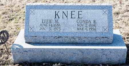 KNEE, CONDA R - Richland County, Ohio | CONDA R KNEE - Ohio Gravestone Photos