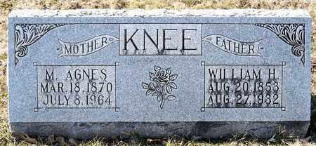 KNEE, WILLIAM H - Richland County, Ohio | WILLIAM H KNEE - Ohio Gravestone Photos