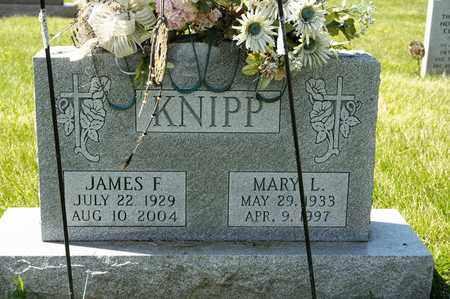 KNIPP, MARY L - Richland County, Ohio | MARY L KNIPP - Ohio Gravestone Photos