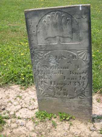 KNOTT, ELISABETH - Richland County, Ohio | ELISABETH KNOTT - Ohio Gravestone Photos