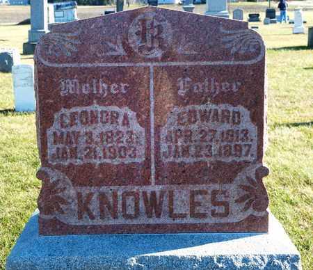 KNOWLES, EDWARD - Richland County, Ohio | EDWARD KNOWLES - Ohio Gravestone Photos