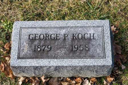 KOCH, GEORGE P - Richland County, Ohio | GEORGE P KOCH - Ohio Gravestone Photos