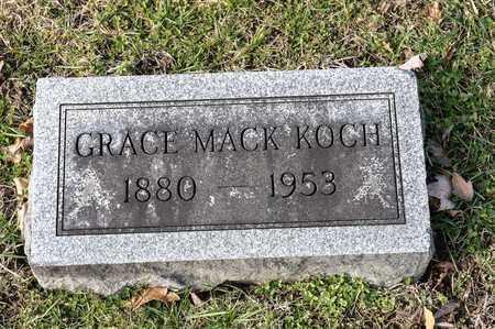 MACK KOCH, GRACE - Richland County, Ohio | GRACE MACK KOCH - Ohio Gravestone Photos