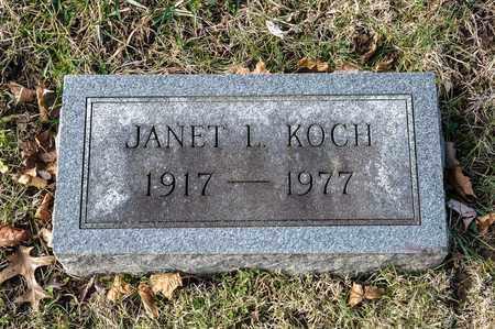 KOCH, JANET L - Richland County, Ohio | JANET L KOCH - Ohio Gravestone Photos