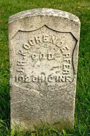 KOCHENDERFER, J H - Richland County, Ohio | J H KOCHENDERFER - Ohio Gravestone Photos