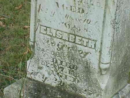 KOHLER, ELISABETH - Richland County, Ohio   ELISABETH KOHLER - Ohio Gravestone Photos