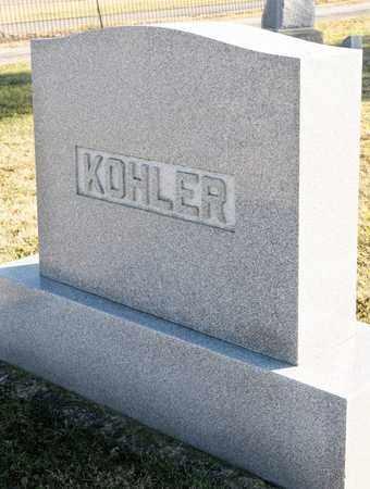 KOHLER, JEROME A - Richland County, Ohio   JEROME A KOHLER - Ohio Gravestone Photos
