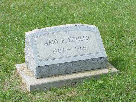 KOHLER, MARY R. - Richland County, Ohio | MARY R. KOHLER - Ohio Gravestone Photos