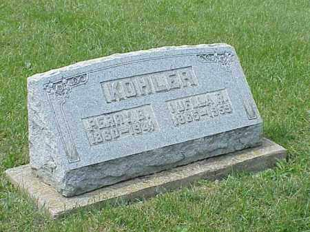 KOHLER, PERRY B. - Richland County, Ohio | PERRY B. KOHLER - Ohio Gravestone Photos
