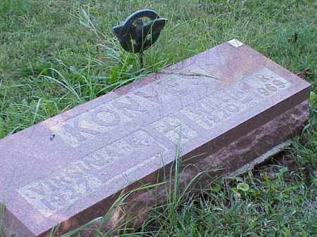 KONVES, WILLIAM R. - Richland County, Ohio   WILLIAM R. KONVES - Ohio Gravestone Photos