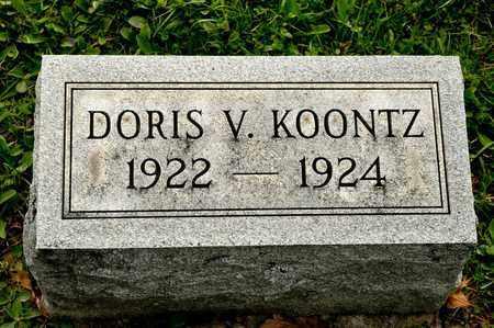 KOONTZ, DORIS V - Richland County, Ohio | DORIS V KOONTZ - Ohio Gravestone Photos