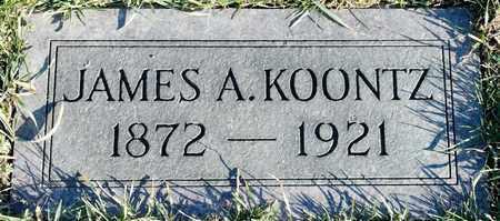 KOONTZ, JAMES A - Richland County, Ohio | JAMES A KOONTZ - Ohio Gravestone Photos