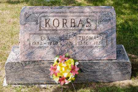KORBAS, THOMAS E - Richland County, Ohio | THOMAS E KORBAS - Ohio Gravestone Photos