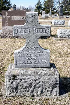 KOURIE, JOSEPH - Richland County, Ohio | JOSEPH KOURIE - Ohio Gravestone Photos