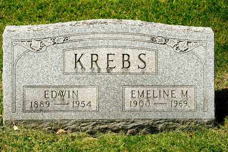 KREBS, EDWIN - Richland County, Ohio | EDWIN KREBS - Ohio Gravestone Photos
