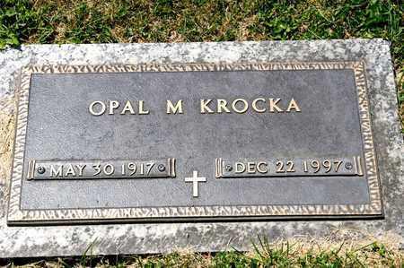 KROCKA, OPAL M - Richland County, Ohio   OPAL M KROCKA - Ohio Gravestone Photos