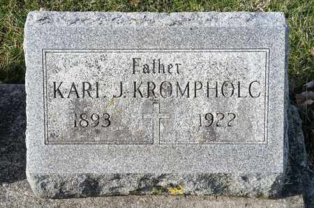 KROMPHOLC, KARL J - Richland County, Ohio | KARL J KROMPHOLC - Ohio Gravestone Photos