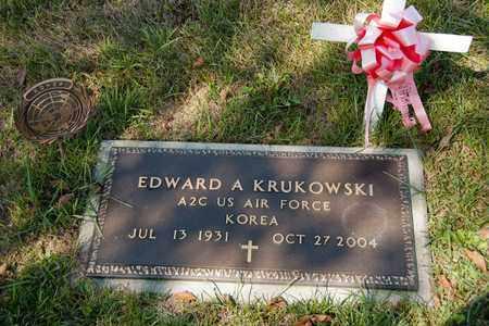 KRUKOWSKI, EDWARD A - Richland County, Ohio | EDWARD A KRUKOWSKI - Ohio Gravestone Photos